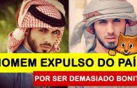 FOTOS DO HOMEM QUE FOI OBRIGADO A ABANDONAR A ARÁBIA SAUDITA POR SER DEMASIADO BONITO